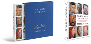 The Portraits in Courage book supports the George W. Bush Presidential Center at its Military Service Initiative.