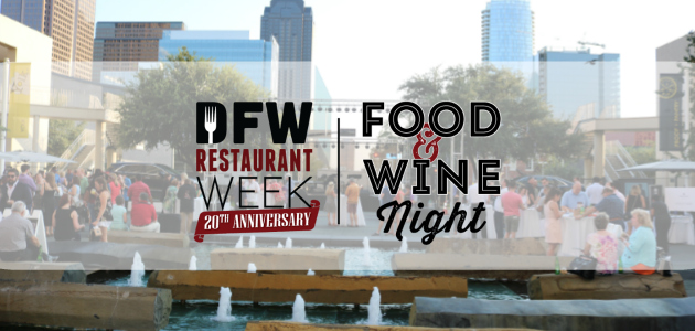 DFW Restaurant Week Food & Wine Night